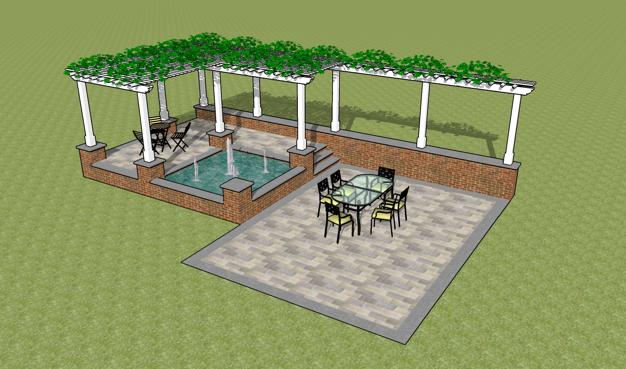 Picnic Table Plans Outdoor Pergola Plan Simple Helps To Make Pergola Plans