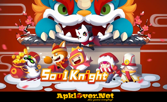 Soul Knight APK MOD unlimited money & unlocked