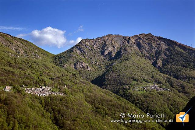 Biegno, Indemini e monte Gambarogno