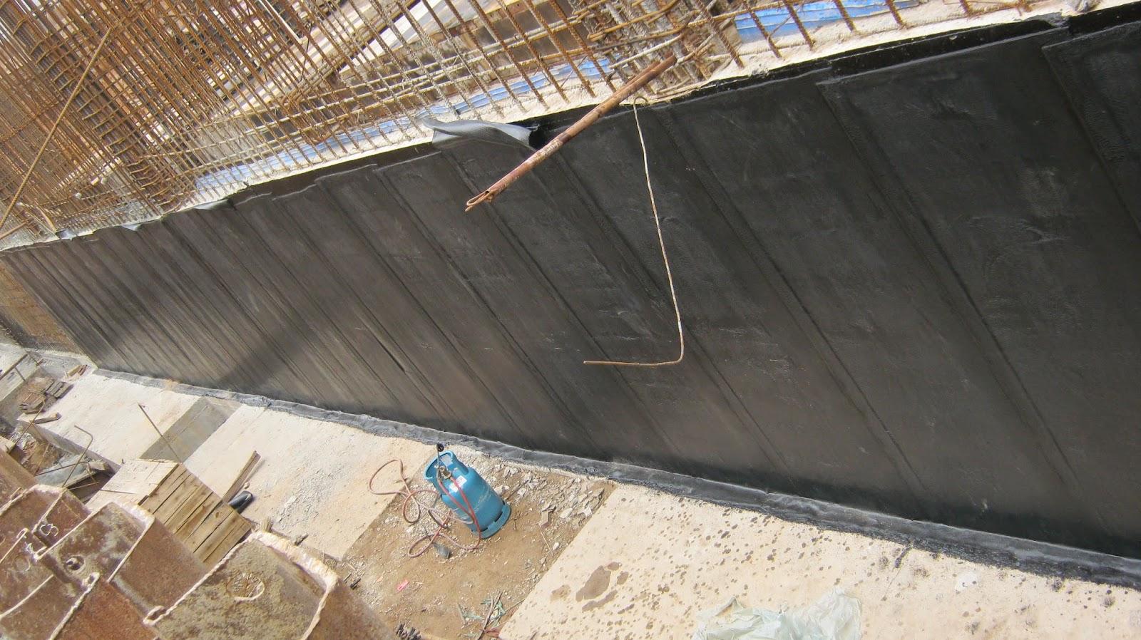 chống thấm tầng hầm, chống thấm mái nhà