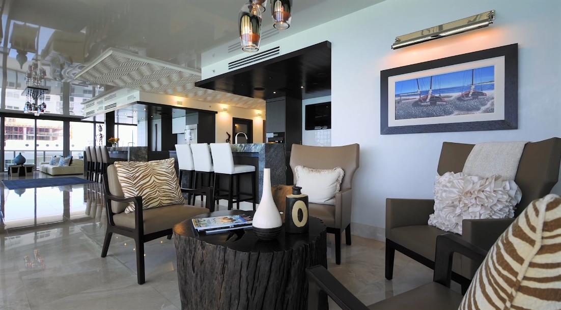 47 Interior Design Photos vs. Tour 5875 Collins Ave, 1801/2 Miami Beach FL Luxury Condo