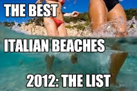 best italian beaches 2012