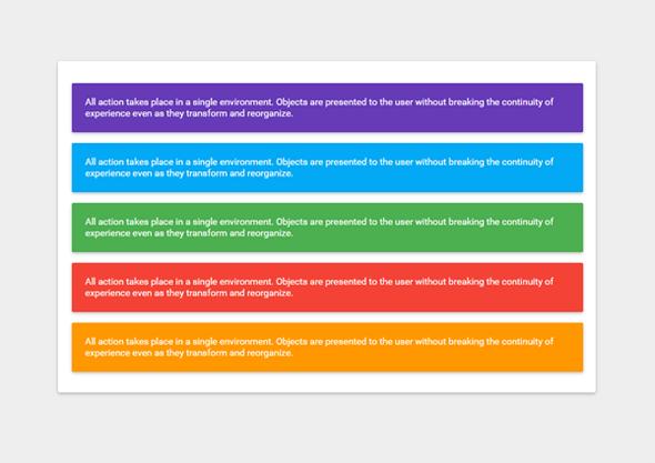 Cara Membuat Material Design Color Box di Blogger