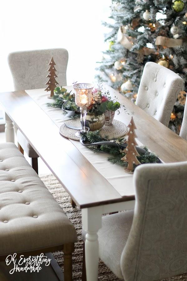 Como decorar la mesa en navidad