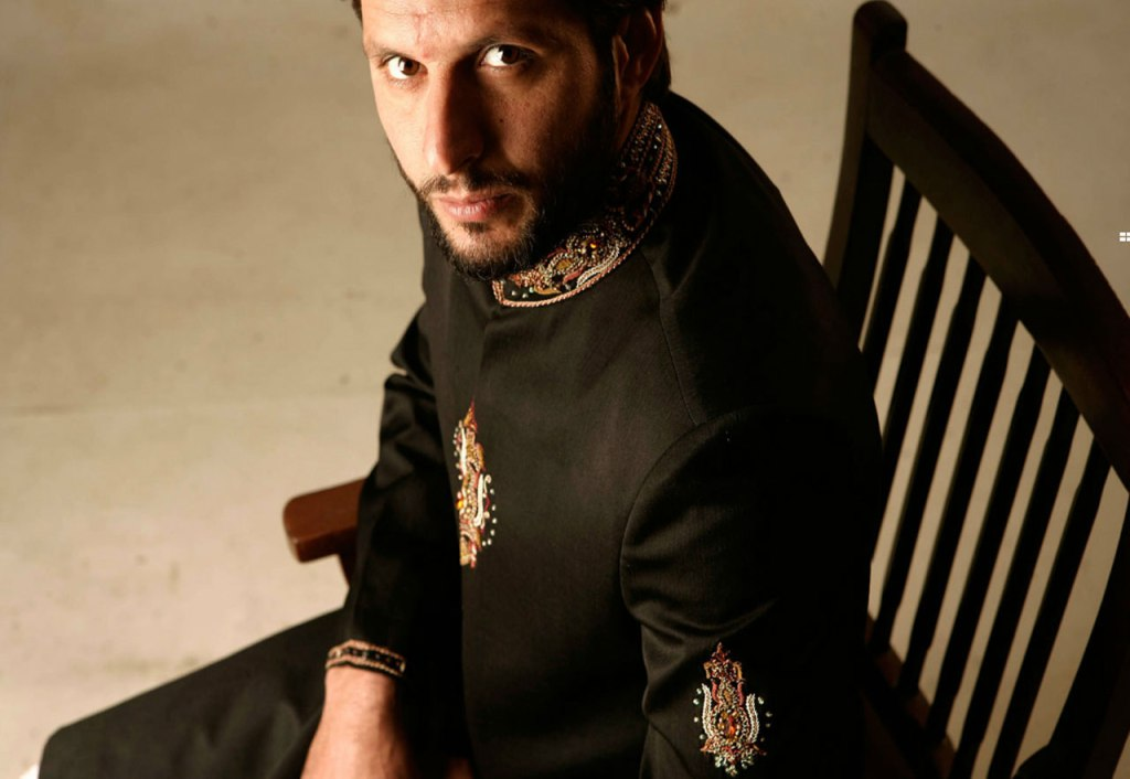 Shahid afridi fashion collection 16