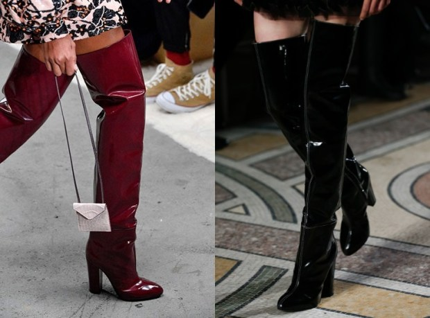 Fall-Winter 2018-2019 Women's Over The Knee Boots Glitter Fashion Trends