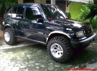 Spesifikasi Suzuki Vitara
