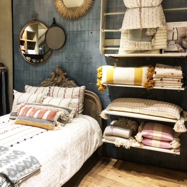 nordstrom and anthropologie released a home collection recently and its fantastic very bohemian chic the line includes everything from bedding to small - Nordstrom Bedding