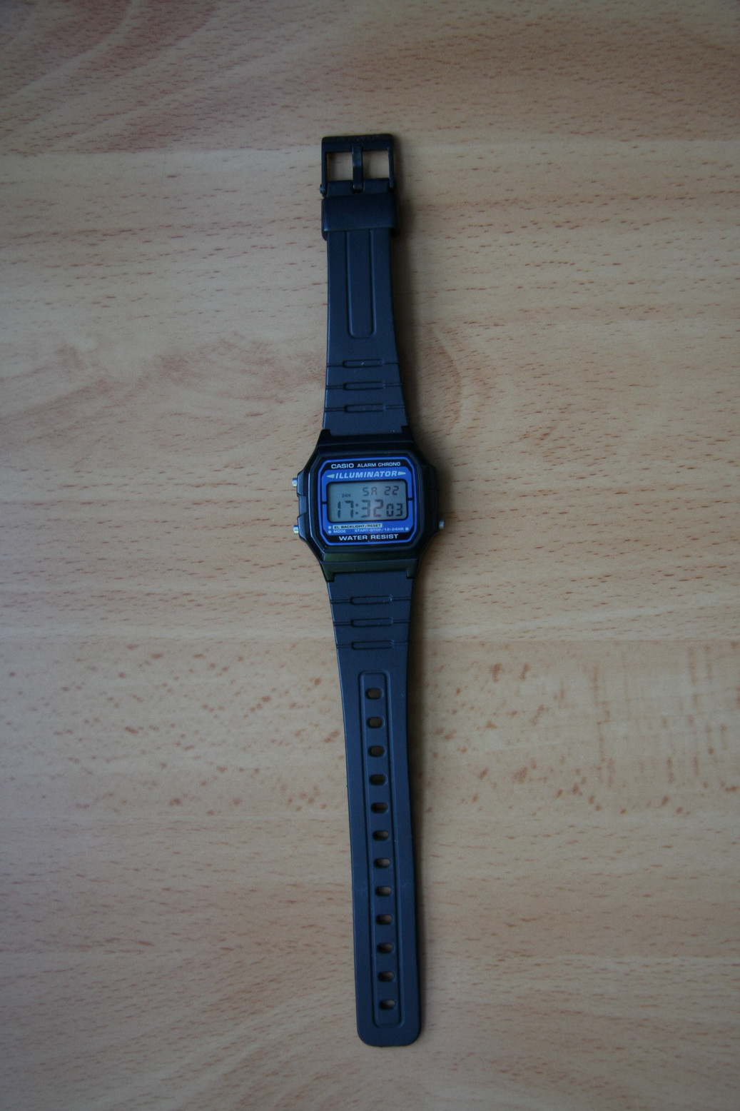c25efd43e Casio F-105 watch. Classic in form and function.