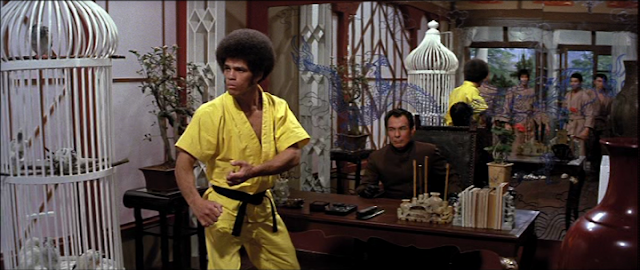 Jim Kelly as Williams in Enter The Dragon