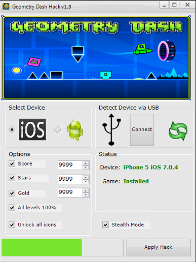 How To Geometry Dash Cheat Icons-Codes-Stars-Bypass-For (Pc,Ios,Android) For Free