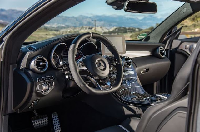 2017 Mercedes-AMG C63 S Coupe Interior