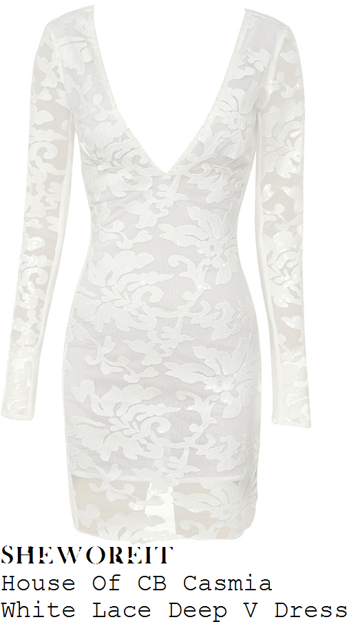 jorgie-porter-house-of-cb-casmia-white-lace-deep-v-dress