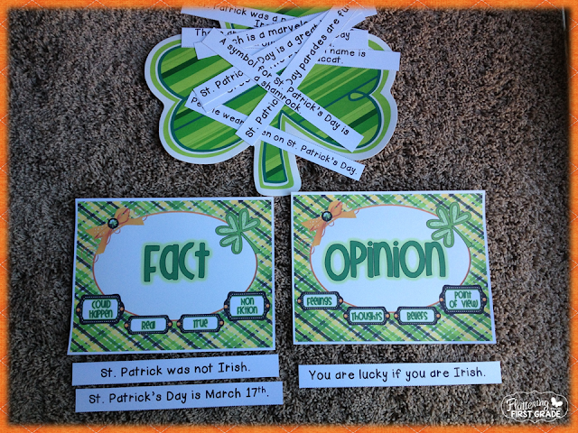 Clever Tom and the Leprechaun book activities for March and St. Patrick's Day lesson plans and centers activities