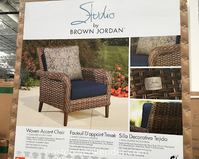 Costco 1031618 - Brown Jordan Woven Accent Chair: great for any backyard or patio