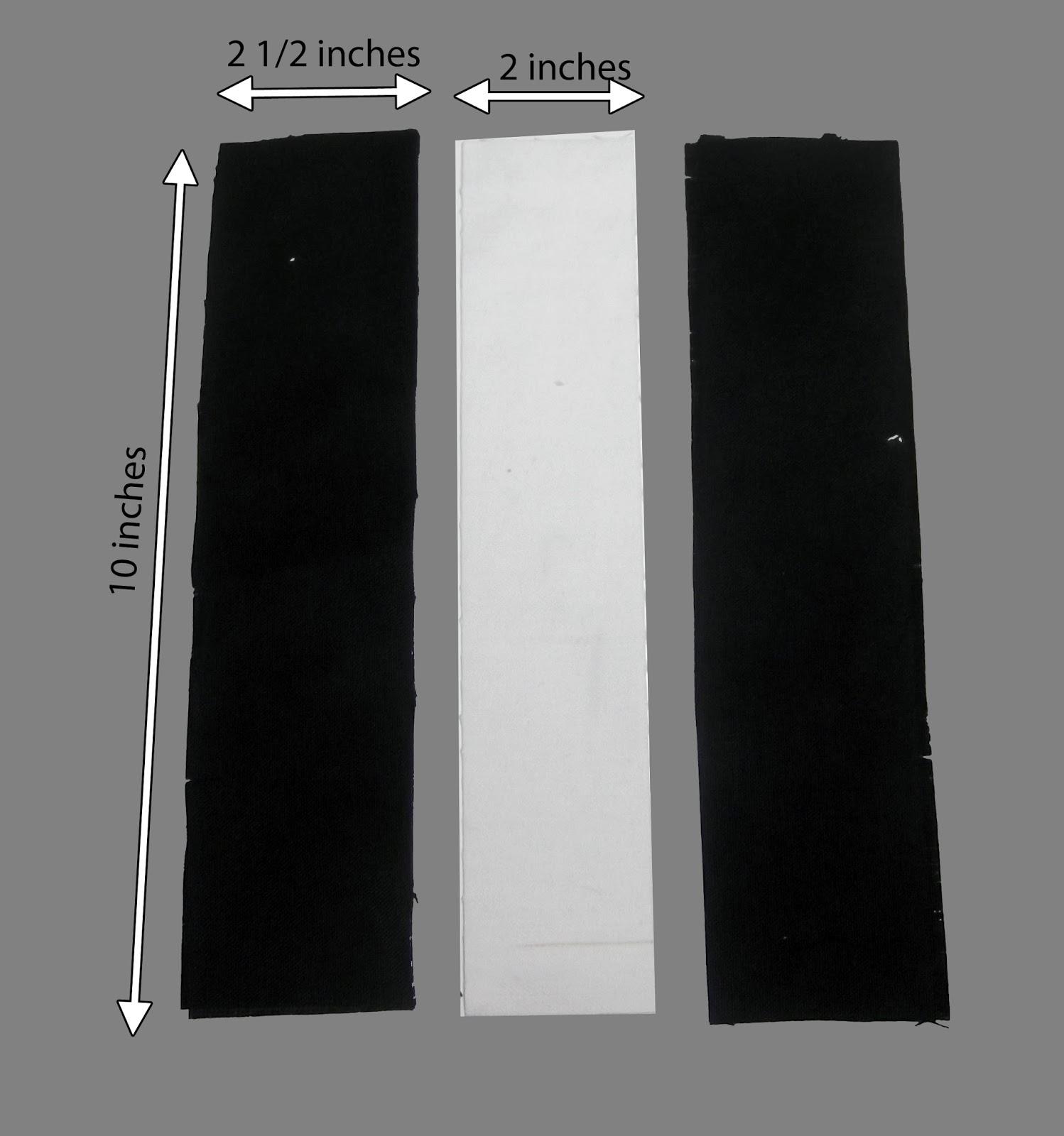 fabric strips, black strips, white strips, cotton stripx