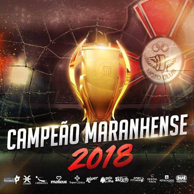Moto Clube campeão maranhense 2018