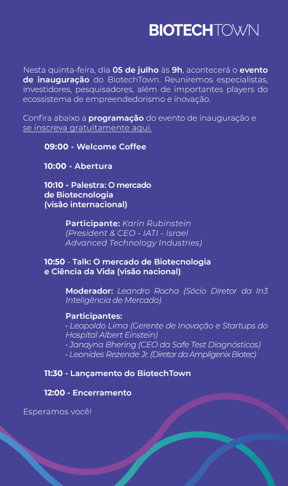 1857068d5cd 05 07  Inauguração do BiotechTown em Nova Lima
