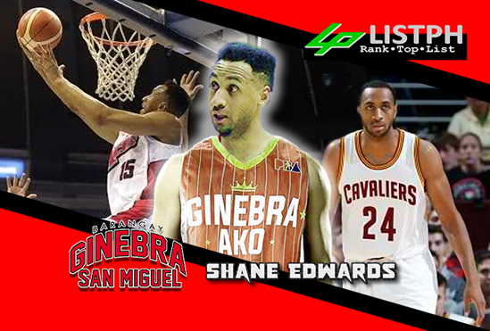 Video Playlist: Shane Edwards Brgy. Ginebra San Miguel import 2018 Commissioner's Cup highlights