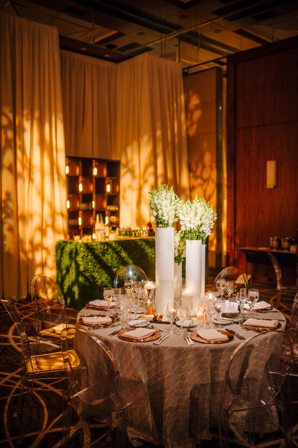 Becca Amp Brad S Industrial Romantic Wedding At The Four