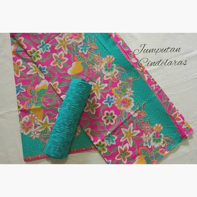 kain batik printing dan kain batik embos