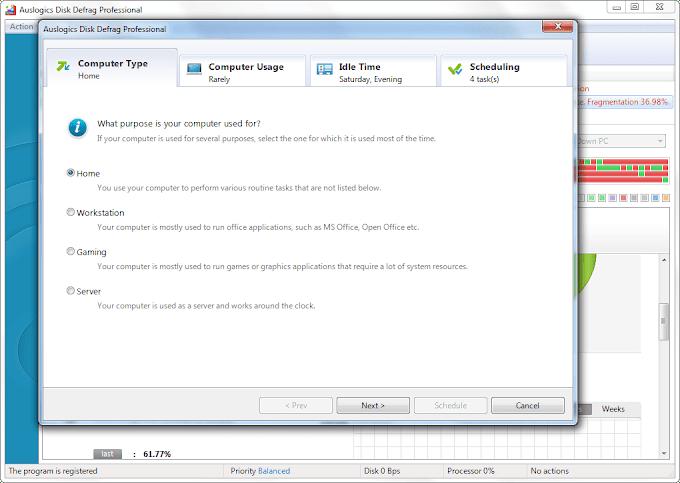 Auslogics Disk Defrag Pro Serial