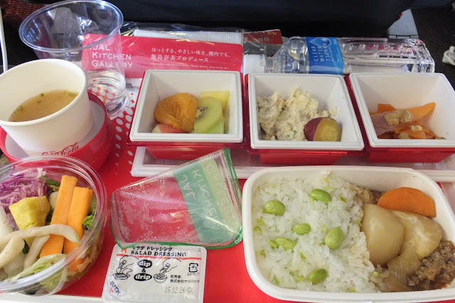 JALエコノミー機内食 flight-meal-JAL
