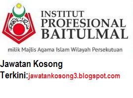 Jawatan Kosong Institut Profesional Baitulmal