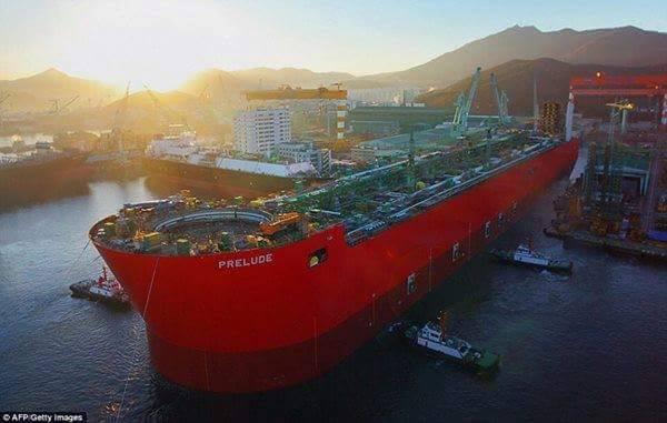 Conheça o maior navio do mundo
