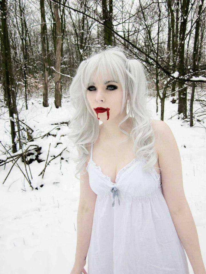 Gothic White Girls Porn