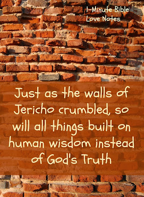 God's truth, crumbling deceptions