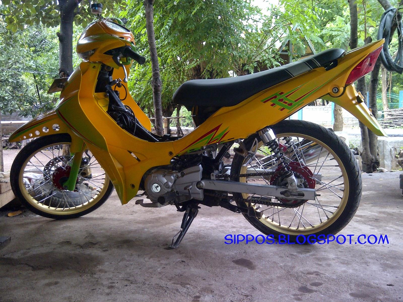 Kumpulan 100 Modifikasi Motor Yamaha Jupiter Z Drag Terkeren