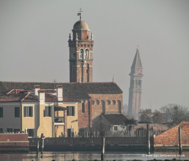 The bell towers of Mazzorbo and Burano
