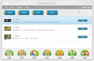 تحميل برنامج محول الفيديو والصوتيات للكمبيوتر freemake video converter download