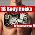 Unik! Inilah 18 Cara Hack Tubuh Kita Sendiri