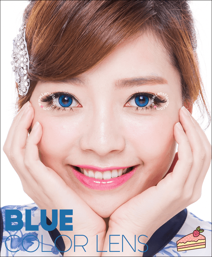 eos new adult  blue colored contacts