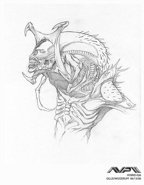 Alien Explorations: Alien Vs Predator Requiem: Predalien