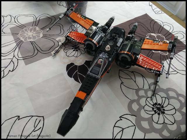 lego briques X wing