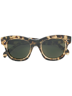 replica celine brown acetate square tortoise shell sunglasses