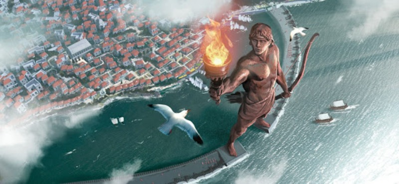 Ο Κολοσσός της Ρόδου: Θεωρείται ως ένα από τα Επτά θαύματα του αρχαίου κόσμου [Βίντεο]