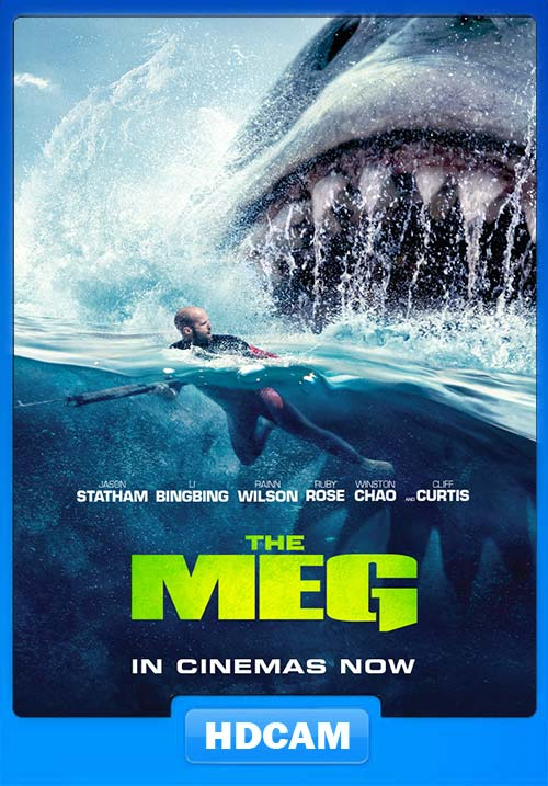 The Meg 2018 Hindi 720p HDCAM x264 | 480p 300MB | 100MB HEVC Poster