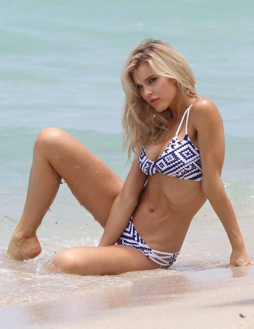 Joy Corrigan – Bikini Photoshoot in Miami