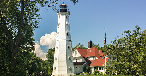 The North Point Light in Milwaukee