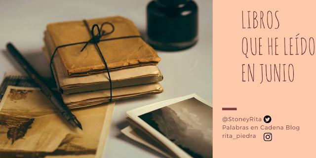 Anotaciones de los libros leídos en Junio, palabras en cadena