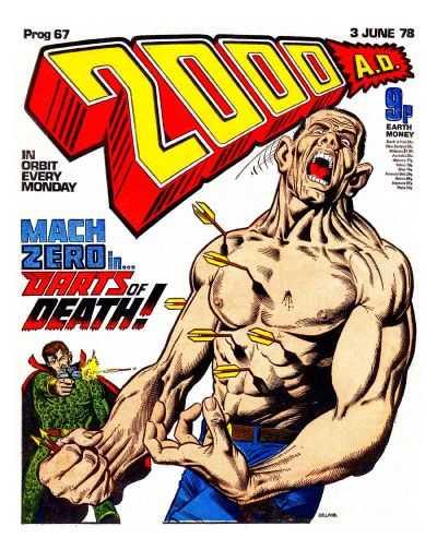 2000 AD Prog 67, MACH Zero