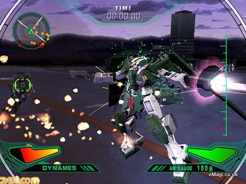 Mobile Suit Gundam 00: Gundam Meisters PS2 GAME ISO Gameplay