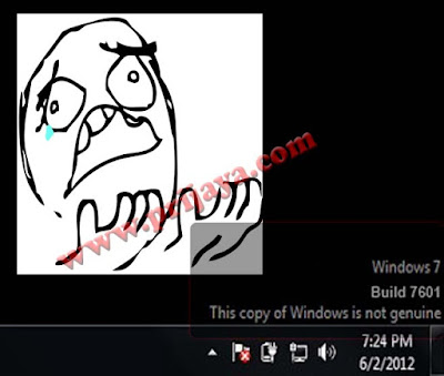 Cara Menghilangkan Windows 7 Build 7601