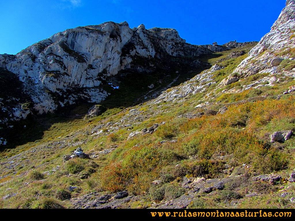 Rutas Montaña Asturias: Último tramo de la Canal a la Hoya