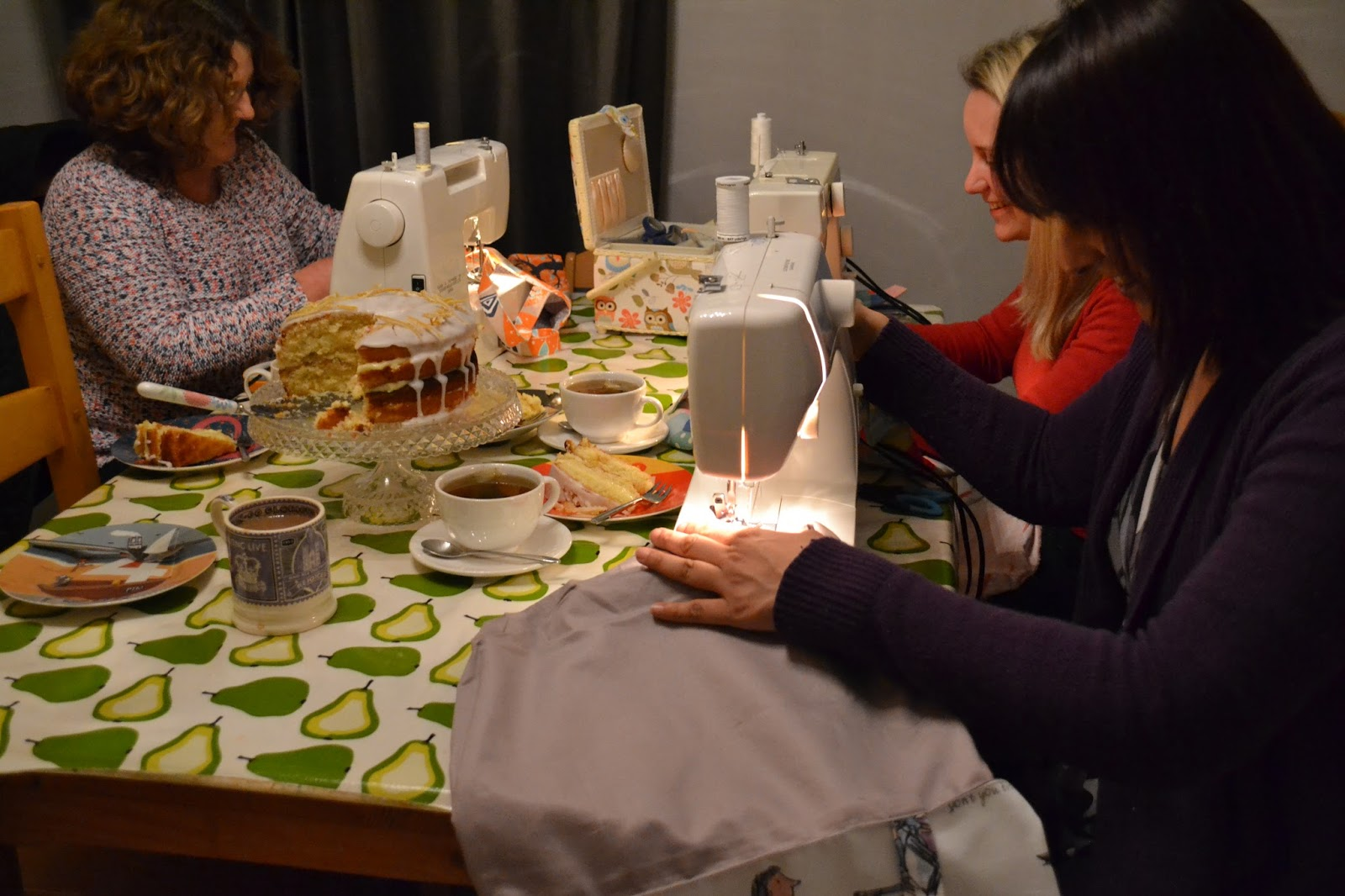 kitchen table sewing book now
