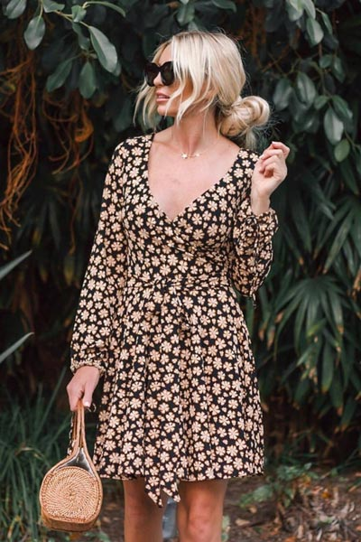 21 Fall Clothing Ideas That are Anything but Boring | Pradera Mini Dress